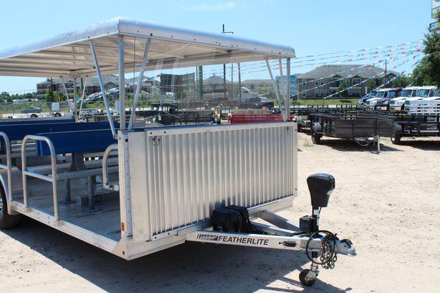 2013 Featherlite 3115 Tram Trailer CONROE, TX 2