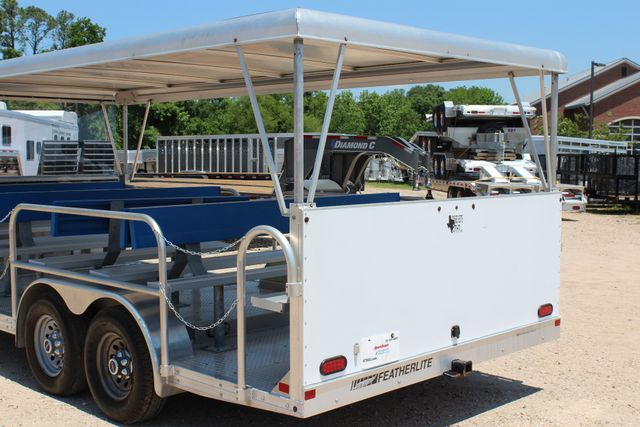 2013 Featherlite 3115 Tram Trailer CONROE, TX 14