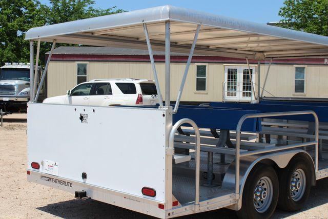 2013 Featherlite 3115 Tram Trailer CONROE, TX 16