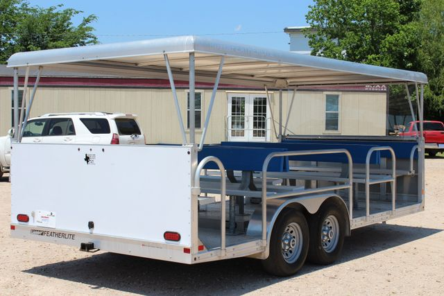 2013 Featherlite 3115 Tram Trailer CONROE, TX 18