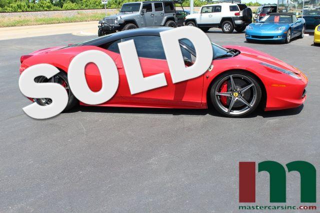 2013 Ferrari 458 Italia    Granite City, Illinois   MasterCars Company Inc. in Granite City Illinois