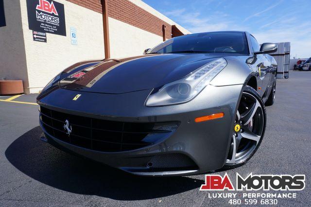 2013 Ferrari FF Coupe Front Lift Carbon Fiber Diamond Stitch Rear Camera
