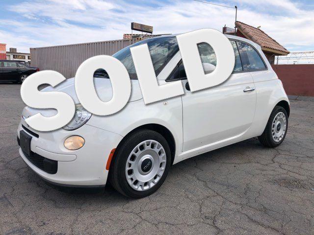 2013 Fiat 500 Pop CAR PROS AUTO CENTER (702)405-9905 Las Vegas, Nevada