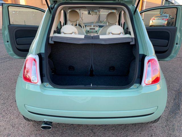 2013 Fiat 500 POP LOW MILES 3 MONTH/3 MILE NATIONAL POWERTRAIN WARRANTY Mesa, Arizona 10