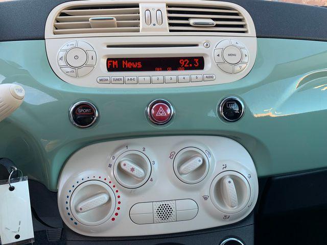 2013 Fiat 500 POP LOW MILES 3 MONTH/3 MILE NATIONAL POWERTRAIN WARRANTY Mesa, Arizona 14