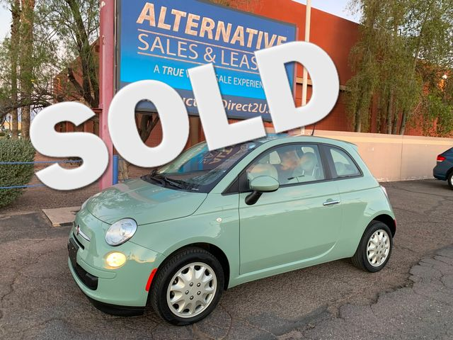 2013 Fiat 500 POP LOW MILES 3 MONTH/3 MILE NATIONAL POWERTRAIN WARRANTY Mesa, Arizona