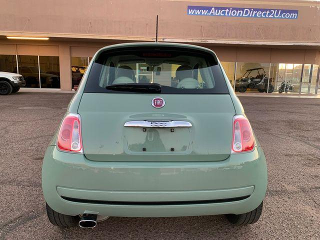 2013 Fiat 500 POP LOW MILES 3 MONTH/3 MILE NATIONAL POWERTRAIN WARRANTY Mesa, Arizona 3