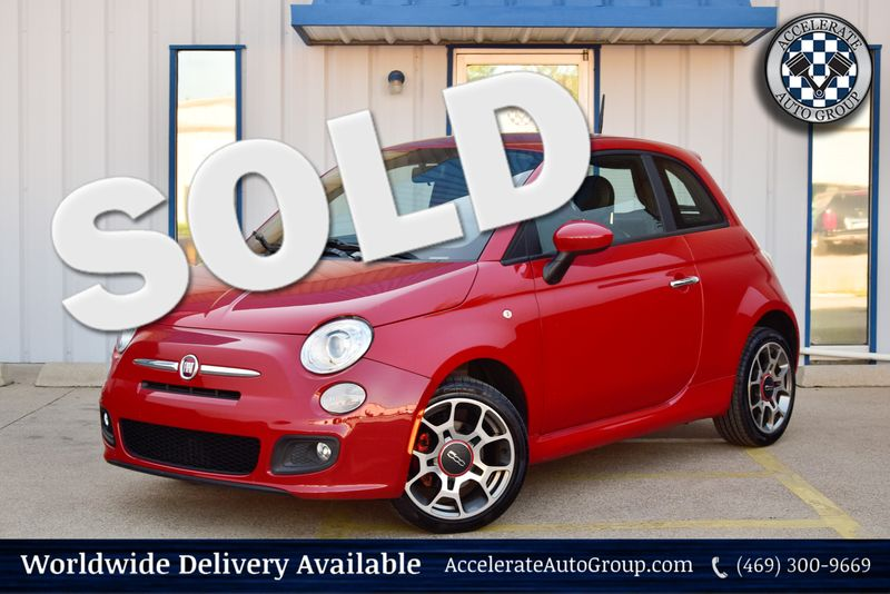 2013 Fiat 500 Sport in Rowlett Texas