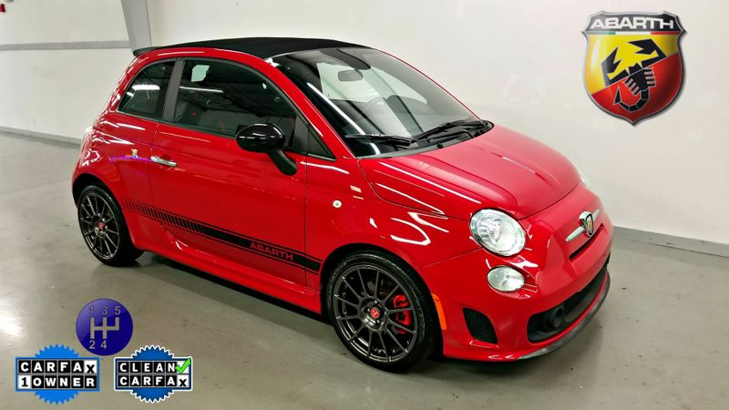 2013 Fiat 500c 1 OWNER CLEAN CARFAX LOW MILES 5 SPEED MANUAL Abarth | Palmetto, FL | EA Motorsports in Palmetto FL