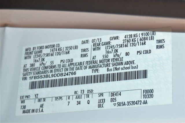 2013 Ford 11 Pass. XL Charlotte, North Carolina 19