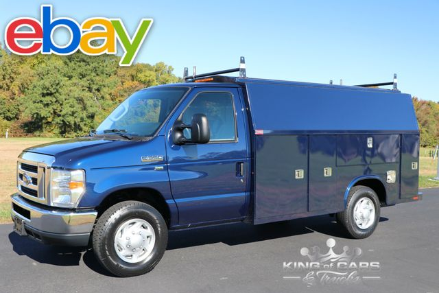 2013 Ford E350 Knapheide ENCLOSED UTILITY VAN 71K MILES 1-OWNER MINT