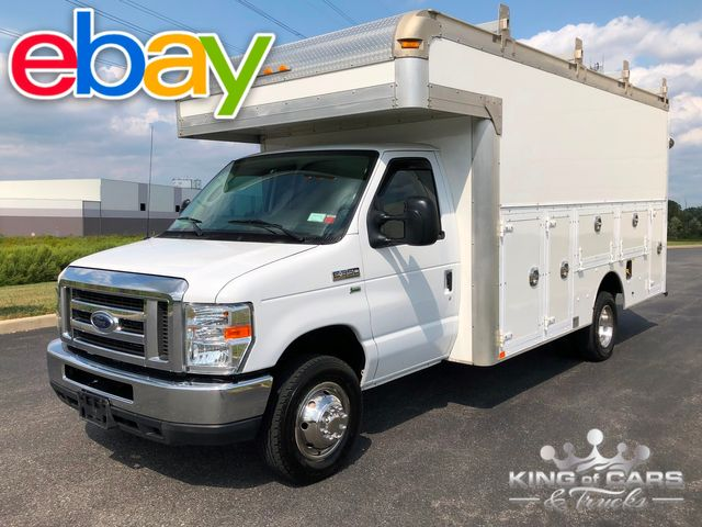 2013 Ford E350 Utility Service WALK IN DRW VAN ONLY 62K MILES MINT