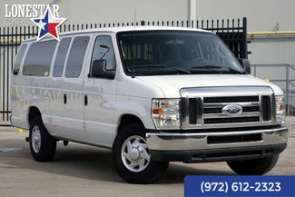2013 Ford E350 Van XLT One Owner Clean Carfax 15 Passenger in Plano Texas, 75093