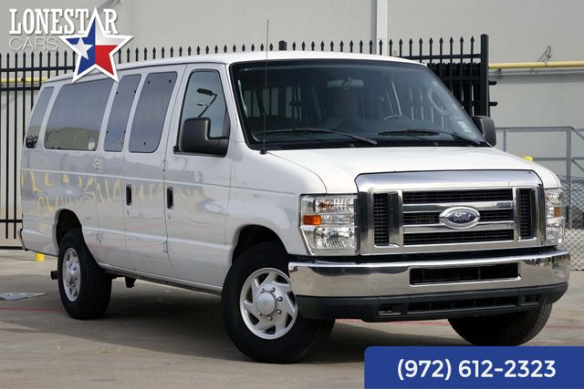 2013 Ford E350 Van XLT One Owner Clean Carfax 15 Passenger