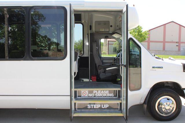 2013 Ford E450 15 Passenger Eldorado Shuttle Bus W/ Luggage Storage Irving, Texas 13