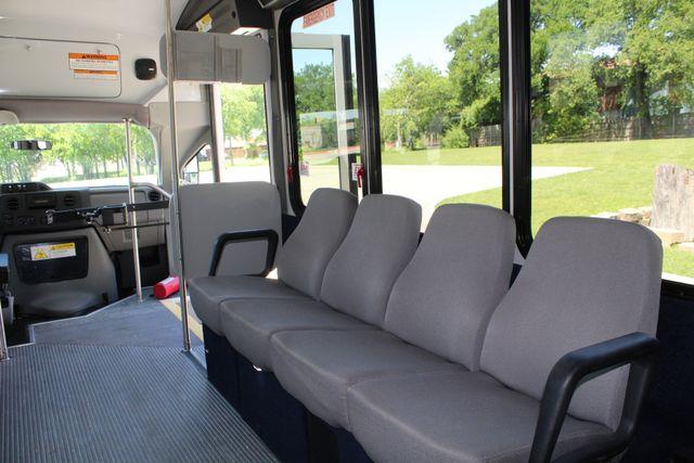 2013 Ford E450 15 Passenger Eldorado Shuttle Bus W/ Luggage Storage Irving, Texas 22