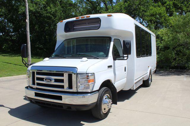 2013 Ford E450 15 Passenger Eldorado Shuttle Bus With Luggage Storage Irving, Texas 3