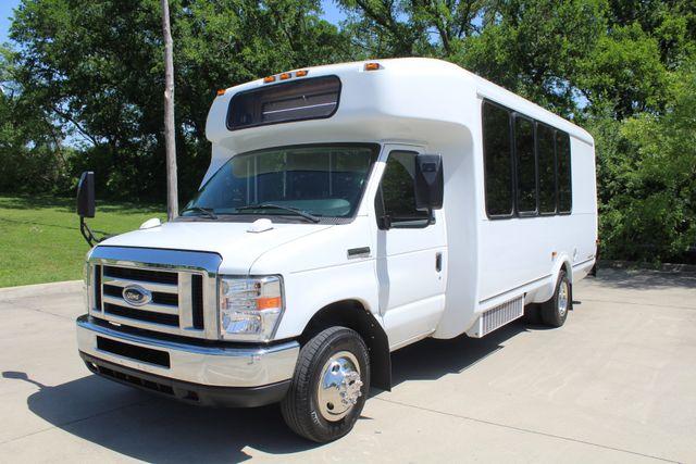 2013 Ford E450 15 Passenger Eldorado Shuttle Bus With Luggage Storage Irving, Texas 5