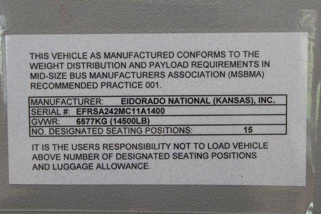 2013 Ford E450 15 Passenger Eldorado Shuttle Bus W/ Luggage Storage Irving, Texas 54