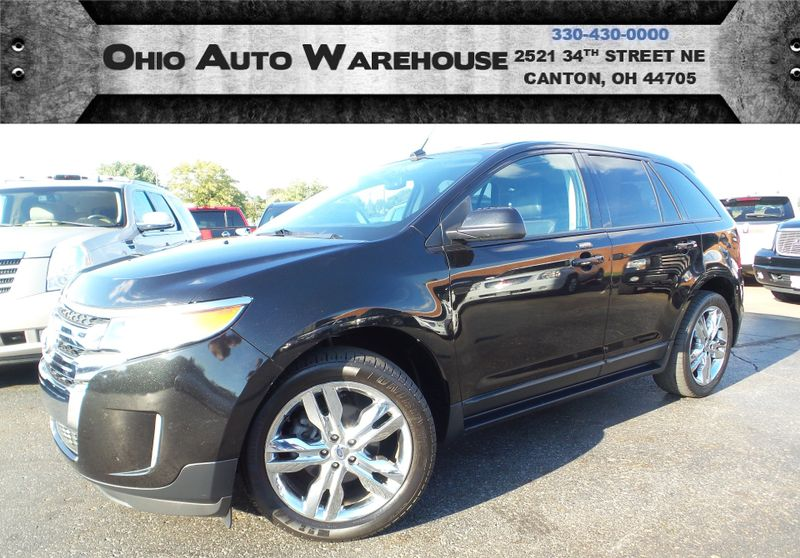Ford Edge Sel Leather  Owner Clean Carfax We Finance Canton Ohio Ohio Auto Warehouse Llc