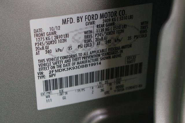 2013 Ford Edge Limited Mooresville , NC 47