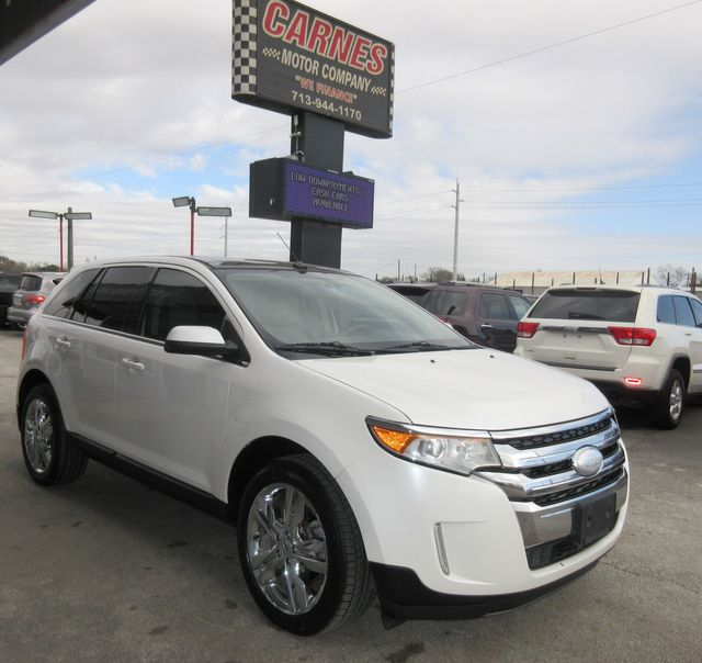 2013 Ford Edge Limited south houston, TX 4