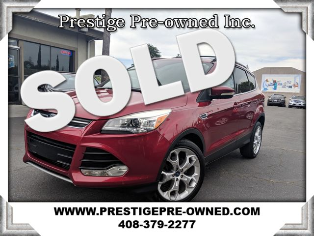 2013 Ford ESCAPE TITANIUM (*NAVI/BACK UP CAM/LEATHER/MOONROOF*)  in Campbell CA