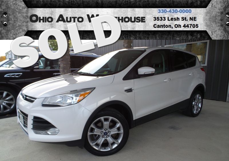 2013 Ford Escape SEL 4x4 Pano Roof EcoBoost Clean Carfax We Finance | Canton, Ohio | Ohio Auto Warehouse LLC in Canton Ohio