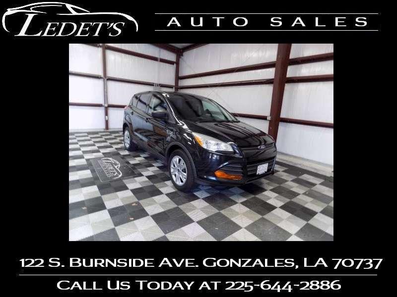 2013 Ford Escape S - Ledet's Auto Sales Gonzales_state_zip in Gonzales Louisiana