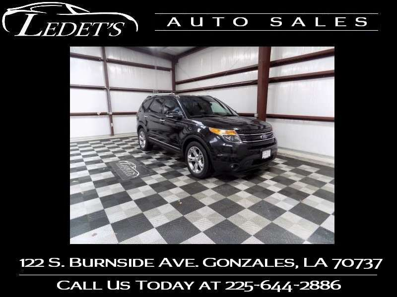 2013 Ford Explorer Limited - Ledet's Auto Sales Gonzales_state_zip in Gonzales Louisiana