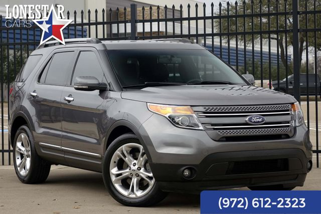 2013 Ford Explorer Limited Clean Carfax Leather