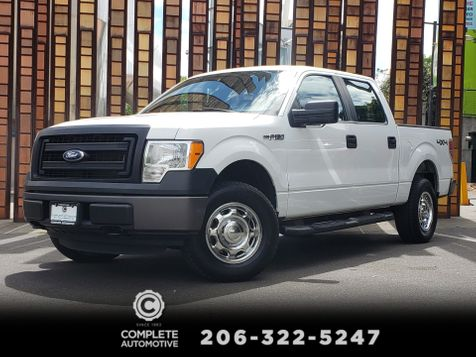 2013 Ford F-150 XL SuperCrew 4x4 5.0L V8 Local Excellent History  in Seattle