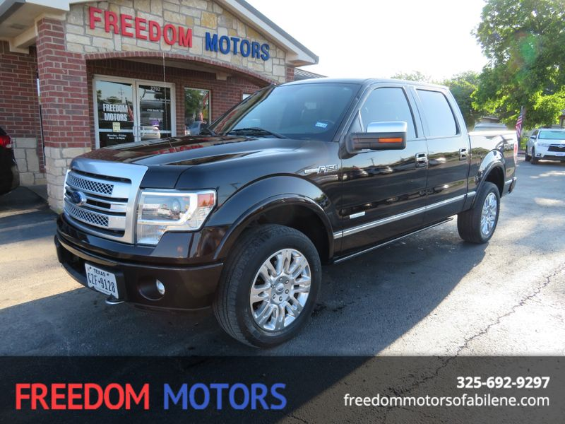 2013 Ford F-150 Platinum | Abilene, Texas | Freedom Motors  in Abilene Texas