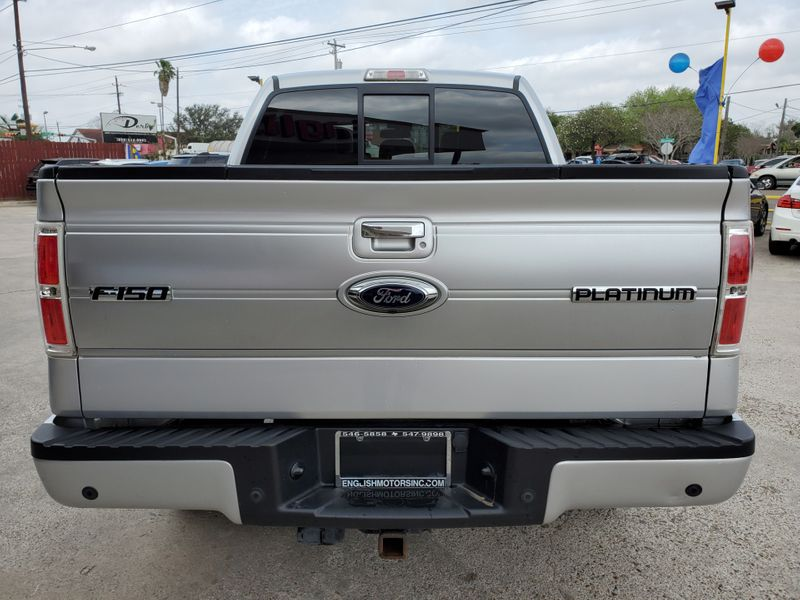 2013 Ford F-150 Platinum  Brownsville TX  English Motors  in Brownsville, TX
