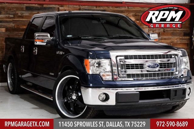 2013 Ford F-150 XLT Lowered with Many Upgrades