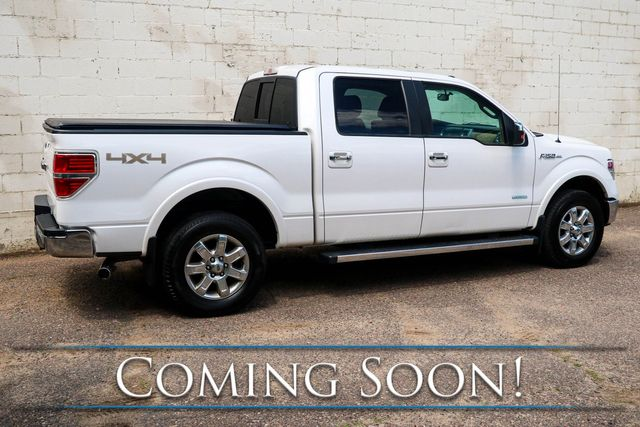 2013 Ford F-150 Lariat SuperCrew 4x4 w/Ecoboost, Navi, Backup Cam, Heated/Cooled Seats, Moonroof, Tow Pkg in Eau Claire, Wisconsin 54703