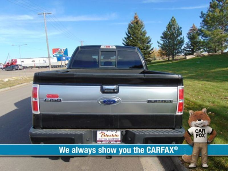 2013 Ford F150 4WD Supercrew Platinum 6 12  city MT  Bleskin Motor Company   in Great Falls, MT