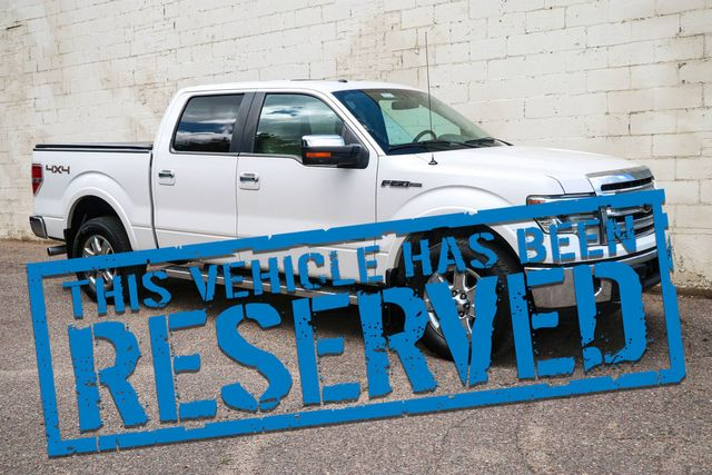 2013 Ford F-150 Lariat SuperCrew 4x4 w/Ecoboost, Navi, Backup Cam, Heated/Cooled Seats, Moonroof, Tow Pkg