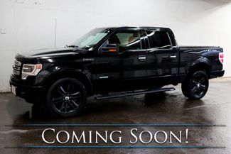 "2013 Ford F-150 Limited Crew Cab 4x4 w/ECOBoost, Nav, Heated/Cooled Seats, Moonroof & 22"" Wheels in Eau Claire, Wisconsin 54703"