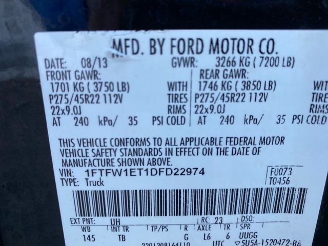 2013 Ford F-150 Limited Madison, NC 49