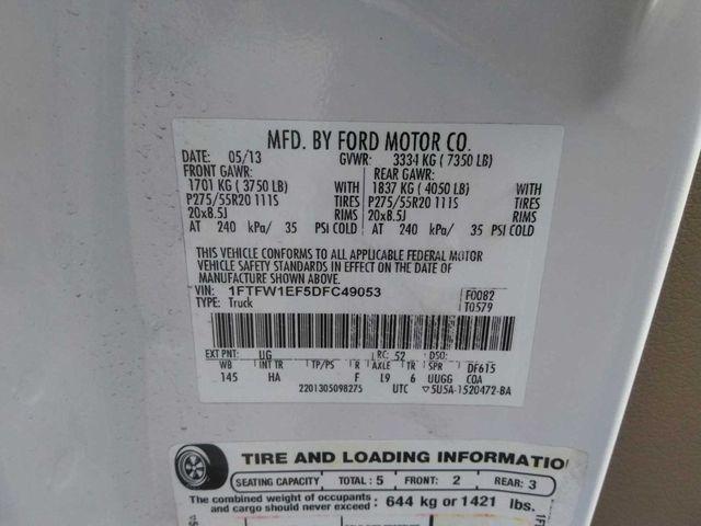 2013 Ford F-150 Lariat Madison, NC 9