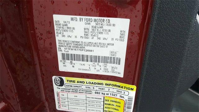 2013 Ford F-150 Platinum 4X4 in McKinney Texas, 75070