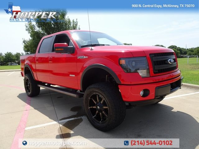 2013 Ford F-150 FX4 LIFT CUSTOM WHEELS AND TIRES