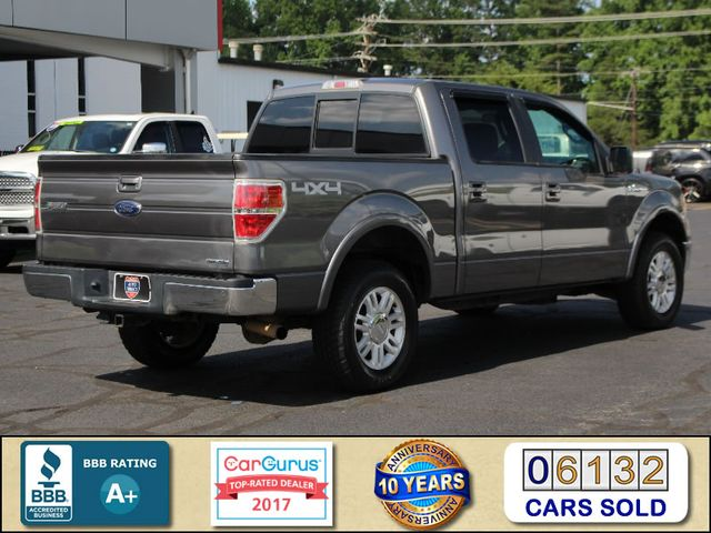 2013 Ford F-150 Lariat SuperCrew 4x4 - HEATED LEATHER! Mooresville , NC 2
