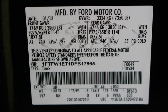 2013 Ford F-150 XL Mooresville , NC 40