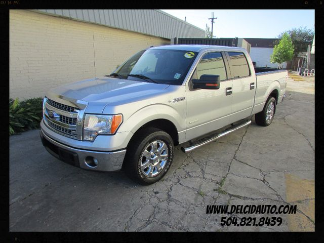 2013 Ford F-150 Crew Cab XLT, Clean CarFax: 1-Owner, No Accidents!