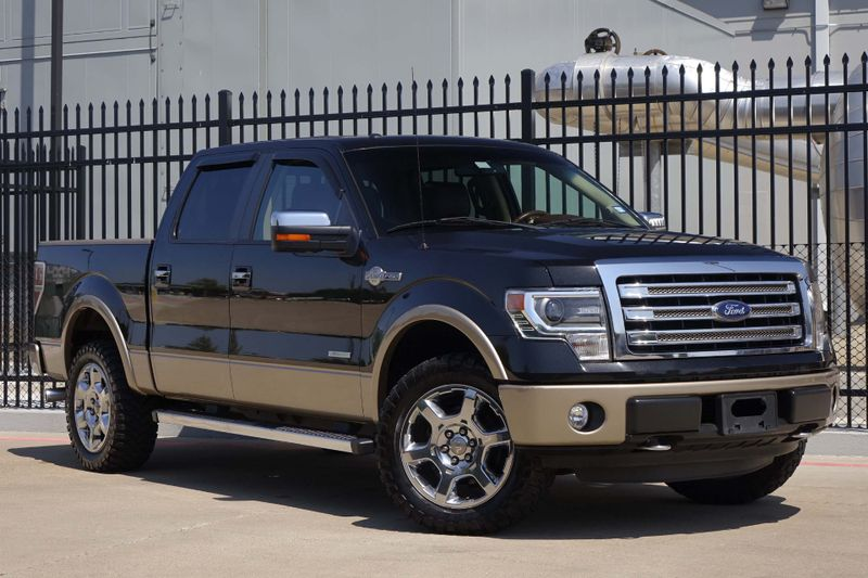 2013 Ford F-150 King Ranch* 4x4* NAV* BU CAM* Sunroof* Crew Cab* EZ Finance*** | Plano, TX | Carrick's Autos in Plano TX