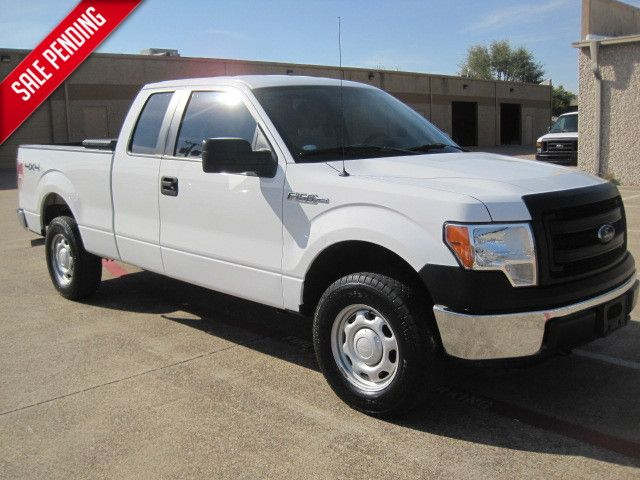 2013 Ford F-150 Supercab XL 4x4 1 Owner, Serv Hist, Power Pack, X