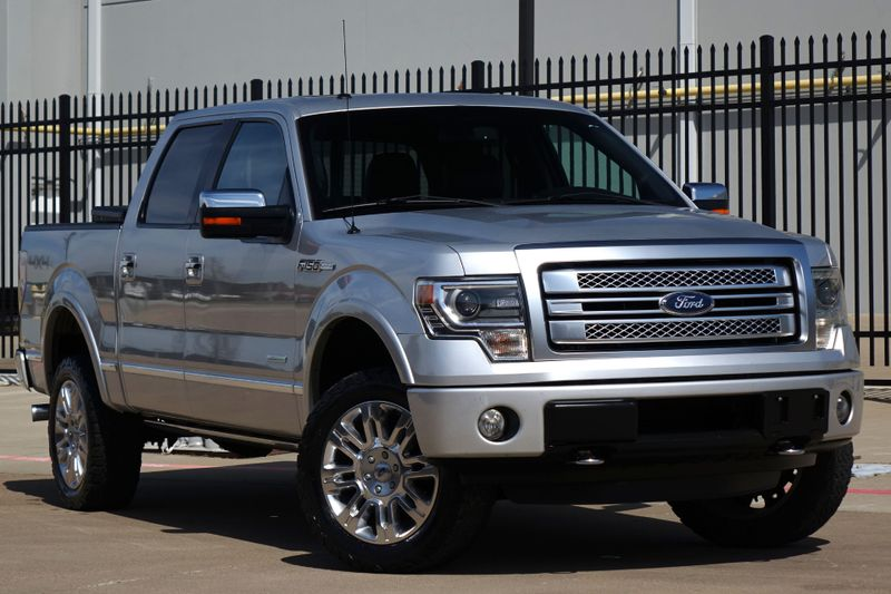 2013 Ford F-150 Platinum* 4x4* Navi* BU Cam* Sunroof* EZ Finance** | Plano, TX | Carrick's Autos in Plano TX