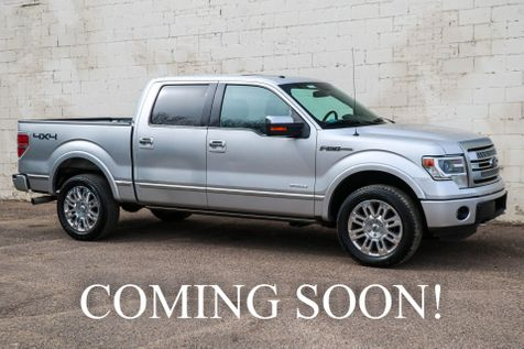2013 Ford F-150 Platinum 4x4 w/Ecoboost, Navigation, Backup Cam, Moonroof, Heated/Cooled Seats & 20s in Eau Claire